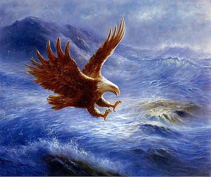 The eagle may soar beavers build dams by Yuki Othsuka