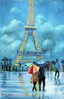 Derek Rutt - The Eiffel Tower In The Rain