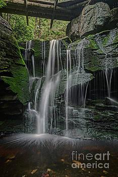 Dan Friend - The Elakala Falls are a series of four waterfalls of Shays Run
