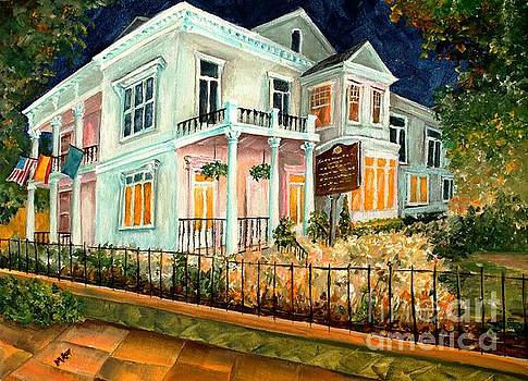 The Elms in New Orleans by Diane Millsap