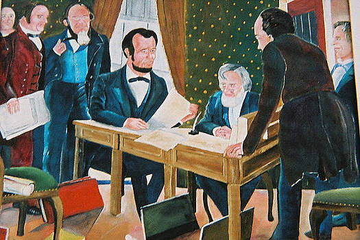 The emancipation by Desenclos Patrick