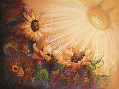 The Embrace of the Light  by Ioana Harjoghe Ciubucciu