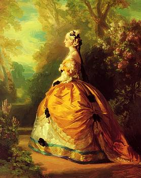 Winterhalter Franz Xaver - The Empress Eug Nie 1854