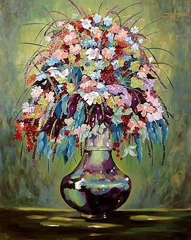 The Empty Vase by Milagros Palmieri