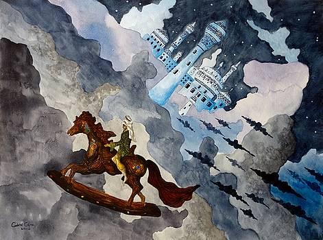 The Enchanted Horse by Gabriel Cajina