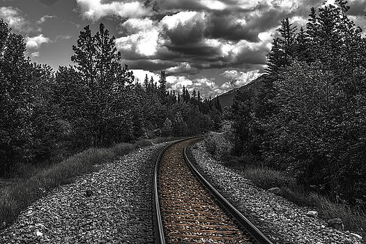 The End of the Line by Jerald Blackstock