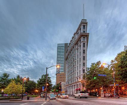 The English--American Building. Atlanta by Anna Rumiantseva