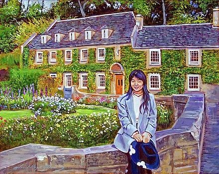 The English Tourist by David Lloyd Glover