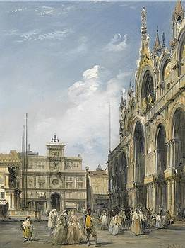 The Entrance to the Cathedral by Edward Pritchett
