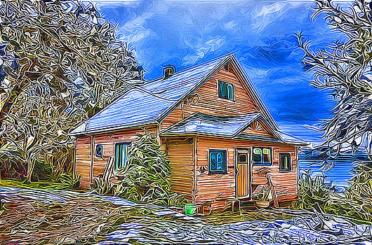 The Ericson house by Darryl Luscombe