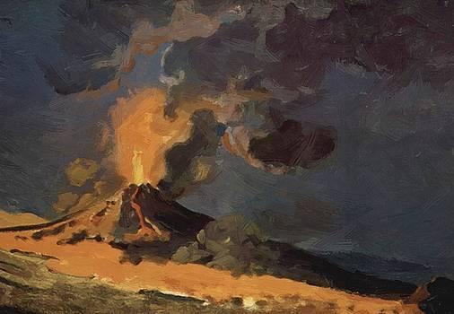 Wright Joseph - The Eruption Of Vesuvius