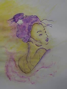 The Expression of a Geisha by Iancau Crina