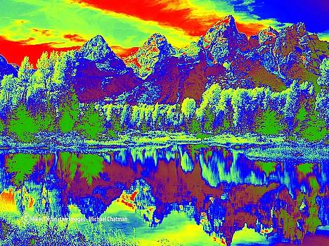 The Expressionistic National Park  by Michael Chatman