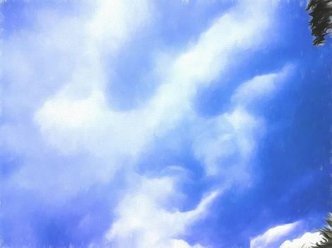 The Face In The Sky by Debra Lynch