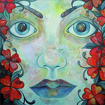 The Face of Persephone I by Shadia Derbyshire