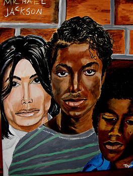 The Faces of Michael Jackson by Thomasina Marks