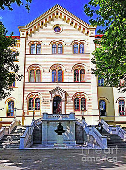 The Faculty Of Law -Zagreb, Croatia by Jasna Dragun