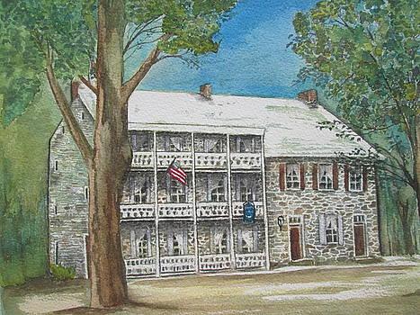 The Fairfield Inn-1757 by Barbara Murphy
