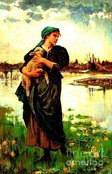 Peter Gumaer Ogden - The Faithful Shepherdess 1886