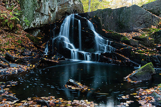 The Falls of Black Creek in Autumn I by Jeff Severson