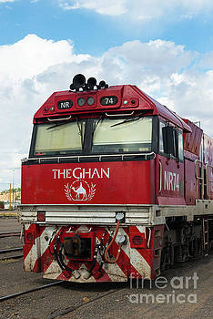 The famed Ghan train  by Andrew Michael