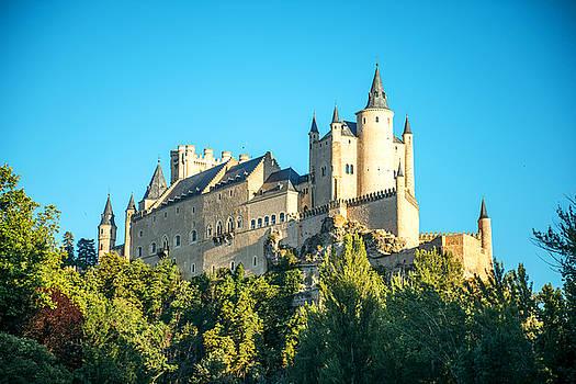 Eduardo Huelin - The famous castle Alcazar of Segovia Spain