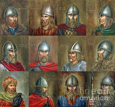 The Famous Vikings by Arturas Slapsys