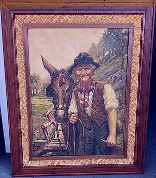 The Farmer and His Donkey by Larry Lay