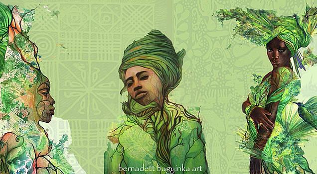 The fauns by Bernadett Bagyinka