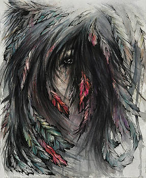 The Feathered Girl by Rachel Christine Nowicki