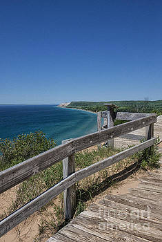 The Fence Along The Coast by Brian Mollenkopf