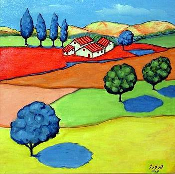 The Field by Mehdi Mehrvarz