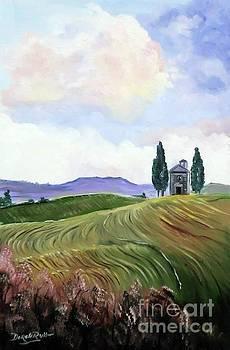 Derek Rutt - The Fields Of Tuscany
