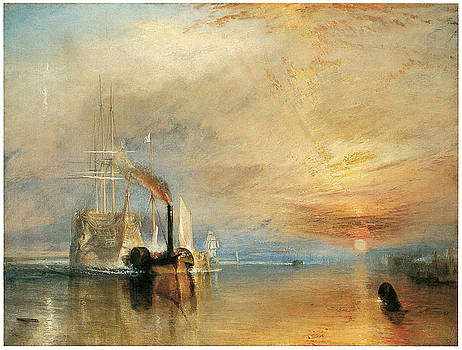 J M W Turner - The Fighting Temeraire tugged to her last berth