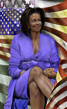 The First Lady-American Pride by Reggie Duffie