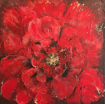 The First Red Poppie. by Melanie Stanton