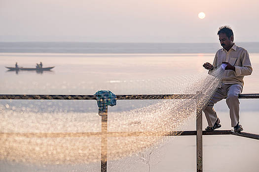 The Fisherman's Net by Ludwig Riml