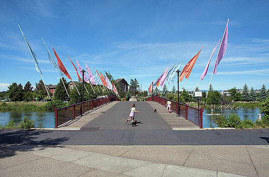 The Flag Bridge by Daniel Furon