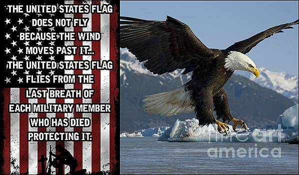 The Flag Flies Because by Matthew Jack