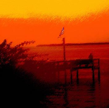 Ian  MacDonald - The Flag Flying Free In Florida