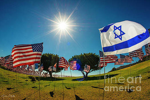 Julian Starks - The Flag of Israel Tribute