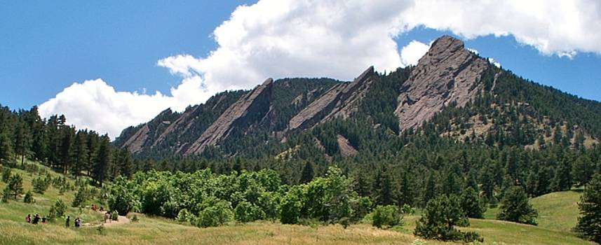 The Flatirons, In All Their Glory by Donna Whitsitt