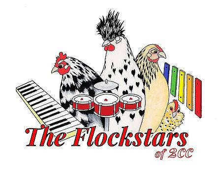 The Flockstars of Two Creative Chicks by Sarah Rosedahl