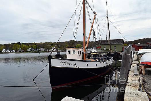 Dockside by Leslie M Browning