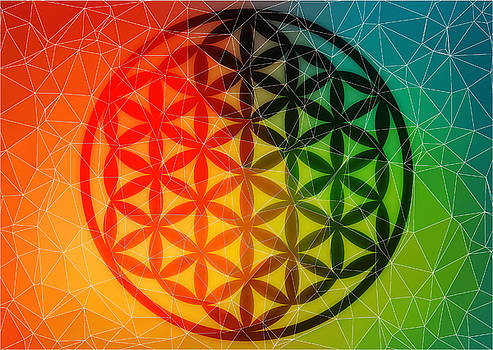 The Flower of Life Dreams by AJ Fortuna