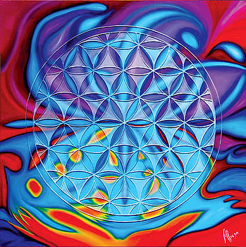 The flower of life by Monica Erosa