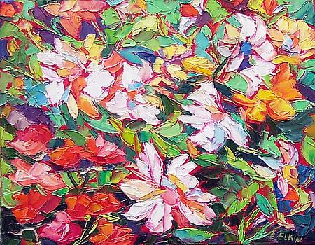 The Flowers Bloom by Elizabeth Elkin