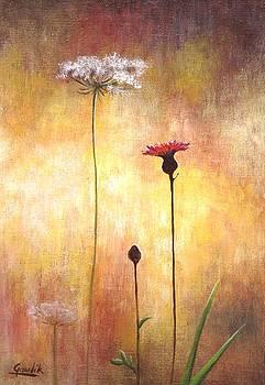 The Flowers by Ewa Gawlik