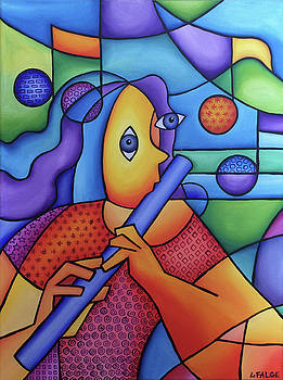 The Flute Player by Lindi Levison