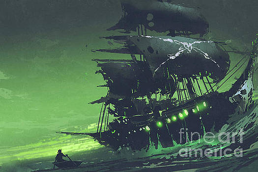 The Flying Dutchman by Tithi Luadthong